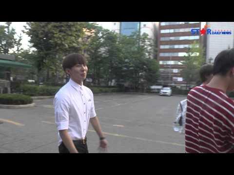 [S영상] KBS '뮤직뱅크' 출근길 - 빅스 LR, 비트윈, 빅스타, JJCC 등