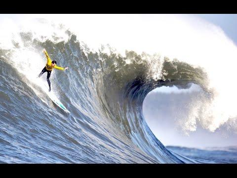 BIG WAVES Over South Sea of Java - Beaches in Yogyakarta [HD]