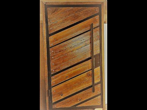 Дверь для бара / Industrial Style Door For A Bar