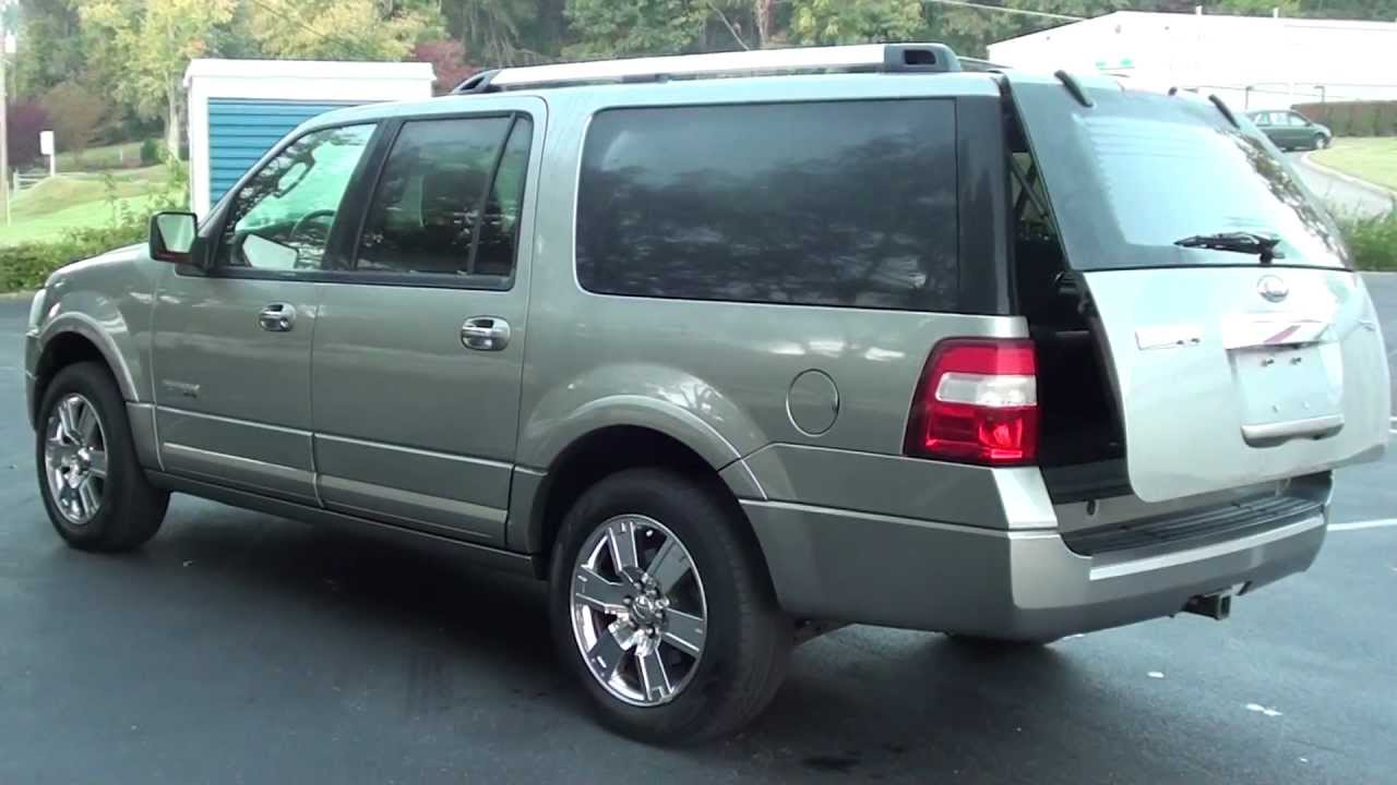 for sale 2008 ford expedition el limited 1 owner stk p5863 youtube. Black Bedroom Furniture Sets. Home Design Ideas