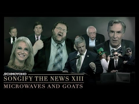 Microwaves & Goats // Songify The News #13