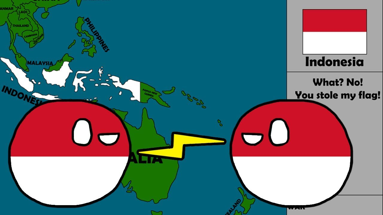 Countryball Roulette Around The World Worldball