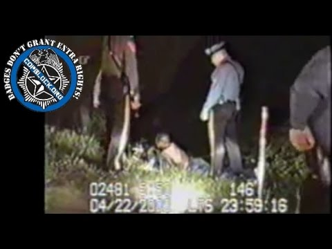 N.J. State Police Beating African American Motorist - Dash Cam