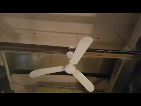 "56"" Banvil/Envirofan Agri-fan Industrial & 52"" Canarm Grand Builder Ceiling Fans"