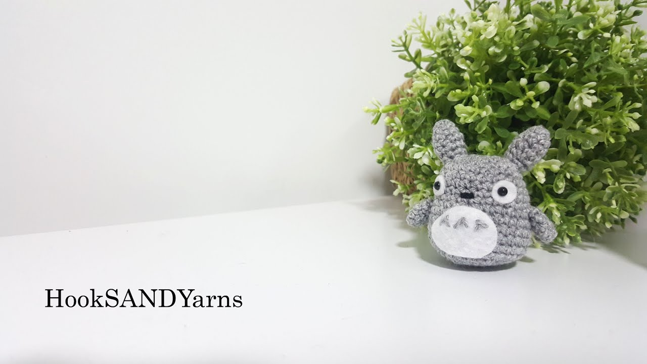 Amigurumi Totoro : Crochet amigurumi totoro tutorial youtube