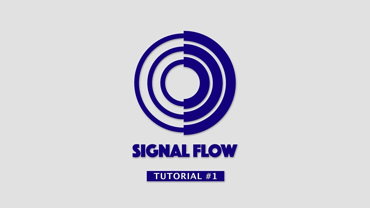 Signal Flow App - Tutorial #1 - YouTube