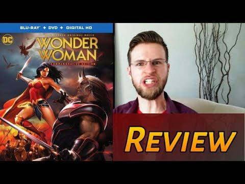 Wonder Woman (2009) Is Feminist Crap - Movie Review