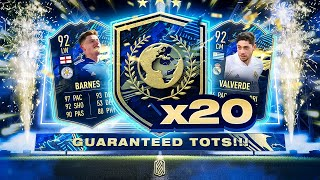 20 X GUARANTEED COMMUNITY TOTS PLAYER PACKS!!! FIFA 21
