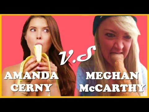 Amanda Cerny vs Meghan McCarthy (W/Titles) Funny Vine Video 2017 - Vine Age