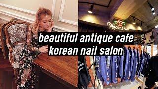 Beautiful Antique Cafe, Korean Nail Salon, Fangirling Hard at Heron Preston!! OMG | DTV #43