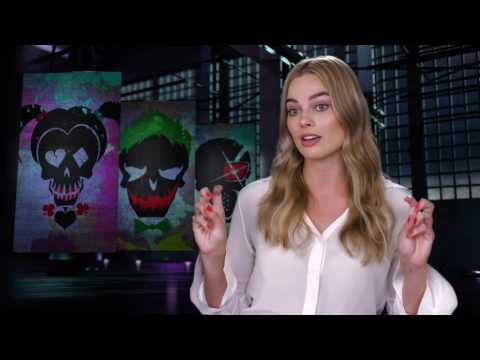 "Suicide Squad: Margot Robbie ""Harley Quinn"" Behind the Scenes Movie Interview"