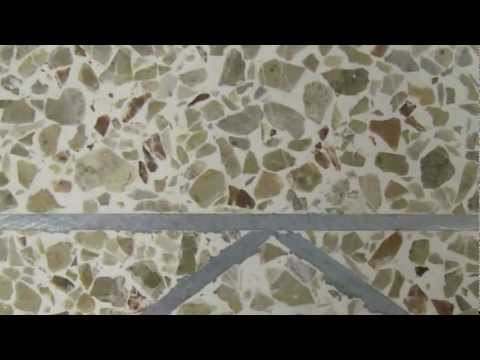 Terrazzo Installation YouTube - How are terrazzo floors made