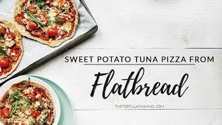Easy and tasty sweet potato tuna pizza crust flatbread recipe