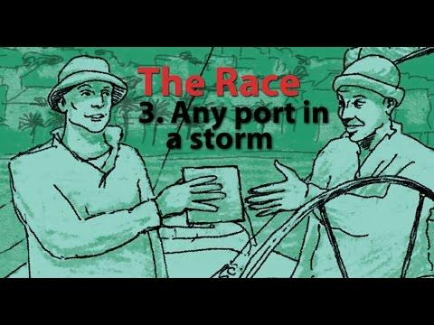 The Race: Any Port in  a Storm. Learn to use 'like' - Episode 3