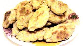 Пирожки- печеньки с капустой. Cakes - Cookies With Cabbage.