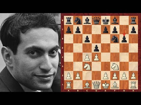 Mikhail Tal at the USSR 1957 Tournament with the White pieces Magician! (Chessworld.net)