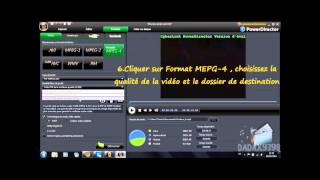 [TUTO] Comment convertir des video au format PSP (avec Cyberlink PowerDirector)