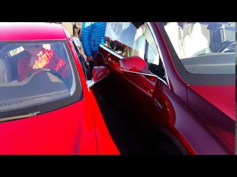 Model X auto-opening
