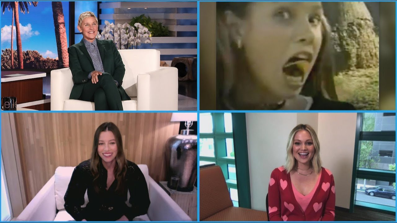Jessica Biel and Olivia Holt Look Back at Their Old Commercials