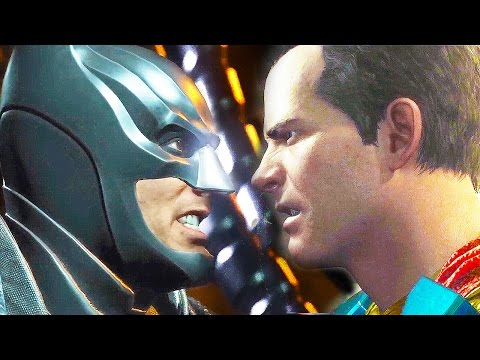INJUSTICE 2 All Endings (Good Ending And Bad Ending)