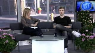 Nick Carter in Breakfast Televisión 08/10/11