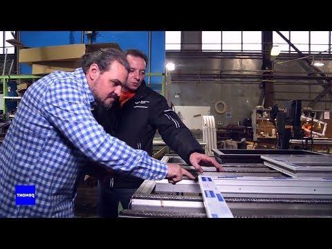 Как производят пластиковые окна «Фабрика окон». Промышленный масштаб