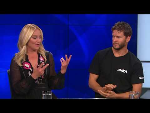 Elisabeth Rohm & Ryan Kwanten on the True Stories in