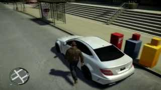 Mercedes-Benz C63 AMG model for GTA IV || Free Download