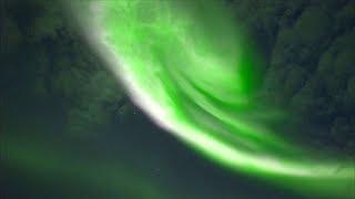 Красивейшее северное сияние наблюдали в Финляндии