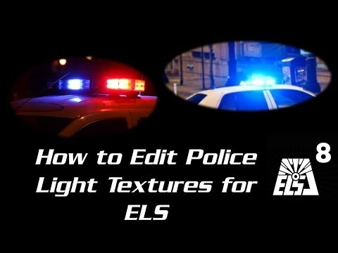 [Tutorial] How to Edit Police Emis/Light Textures for ELS Cars