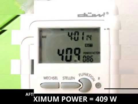 HEAT PUMP - COOLING - POWER CONSUMPTION