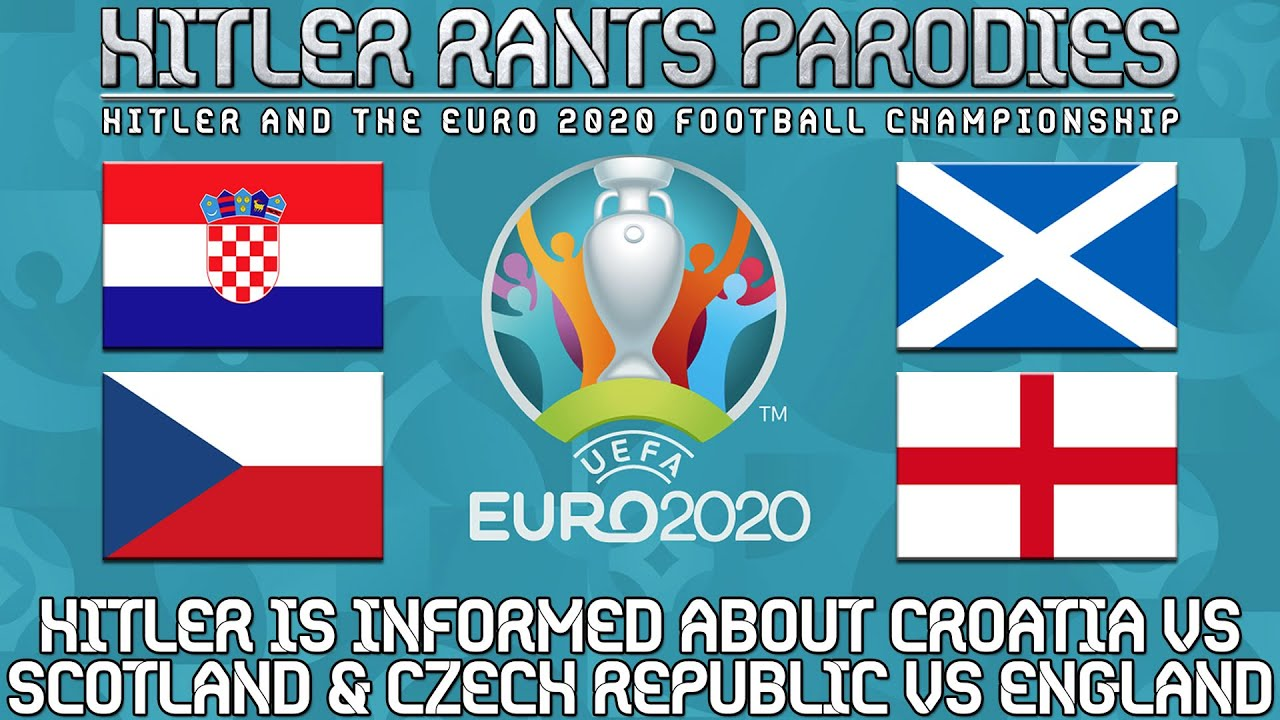 Hitler is informed about Croatia vs Scotland | Czech Republic vs England