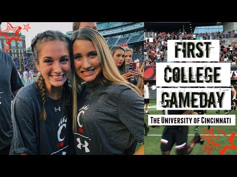FIRST COLLEGE GAME DAY l University of Cincinnati