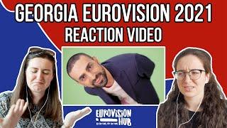 Georgia   Eurovision 2021 Reaction   Tornike Kipiani - You   Eurovision Hub