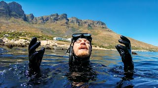 Cape Town Freediving! Lost A GoPro.