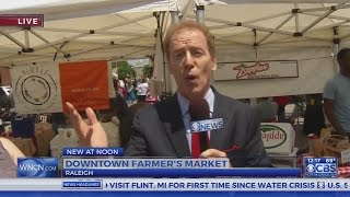 Farmers market kicks off in downtown Raleigh