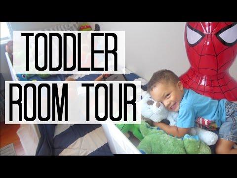 Toddler Boy Room Tour | DIY Kids Room Wall Decor