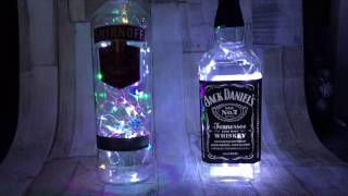 DIY  HOW TO MAKE BOTTLE LAMP