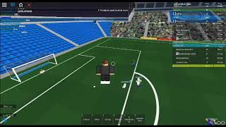 Roblox : IRSF MPS Leicester city vs Man city 2e étape (1ère mi-temps)