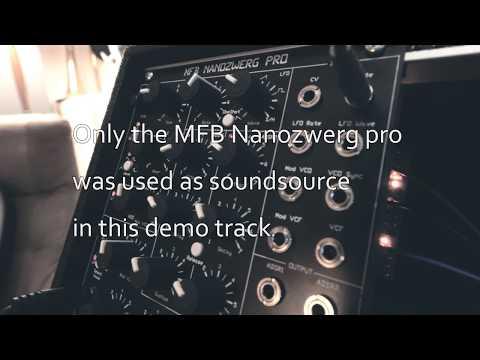 MFB Nanozwerg Pro Demo Track