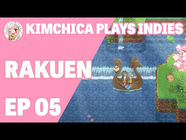 Exploring Leeble Village || Kimchica Plays Rakuen (Ep 05)