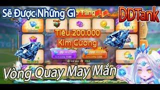 Garena DDTank:Quay Tay Kho Tàng DDTank,Tiêu 200.000 Kim Cương Sẽ Được Những Gì???