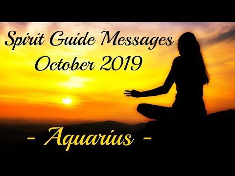 Aquarius ~ Solo journey's end! ~ October Spirit Guide Messages