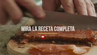 Receta - Gravlax de Salmón by Chefs TV
