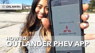 How to Set Up the Mitsubishi Outlander PHEV App (iOS)
