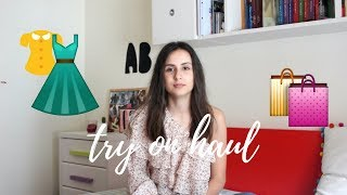 Try-on HAUL nueva colección (Stradivarius, Pull&Bear...) || Ana Blanca