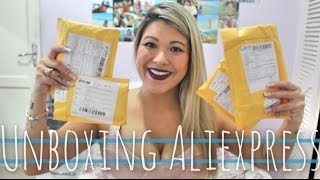 Unboxing Aliexpress #27 - 11 Itens