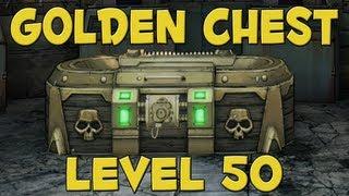BORDERLANDS 2: GOLDEN CHEST - LEVEL 50 (4 Keys)