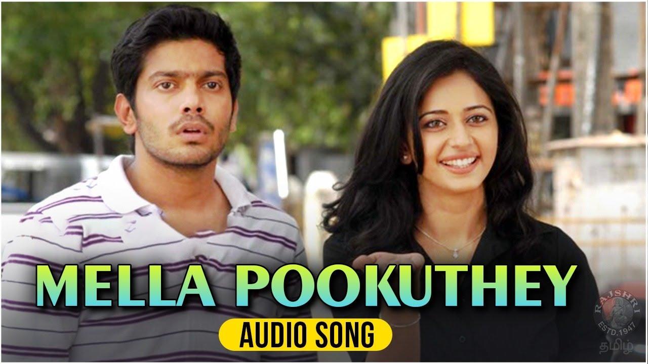Mella Pookuthey Audio Song   Puthagam   Sathya, Rakul Preet Singh