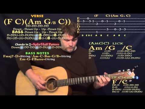 Purpose (Justin Bieber) Guitar Lesson Chord Chart